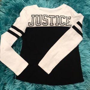 Girls Justice long sleeve shirt